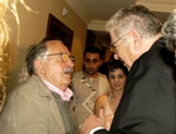 with Tonino Guerra in Yerevan (2006)